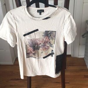 Top Shop Graphic Tee Shirt
